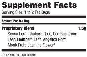 Colon Cleanse Tea by Bravo