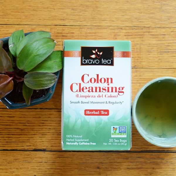 Colon Cleansing Tea by Bravo Tea