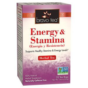 Energy & Stamina by Bravo Tea