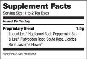Byecough TCM herbal Tea by Bravo Teas and herbs